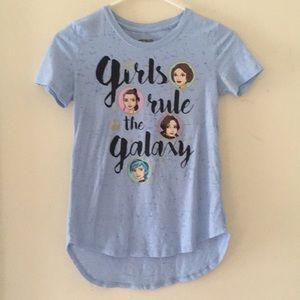 Girls size 10/12 Star Wars top